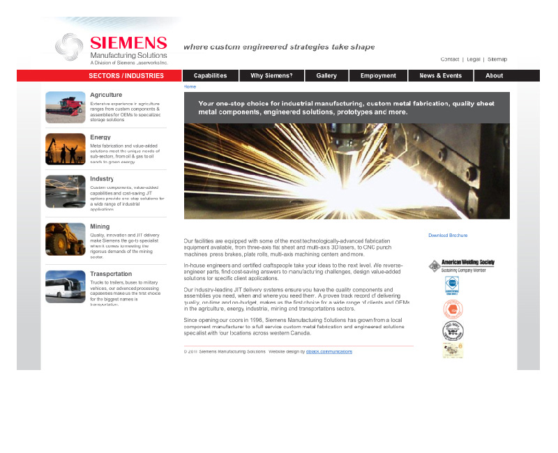 Siemens Manufacturing Solutions
