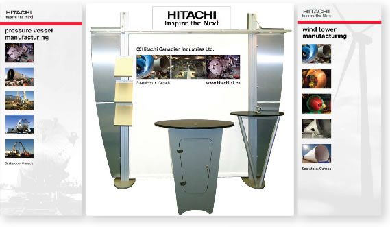 image of tradeshow display and banner displays
