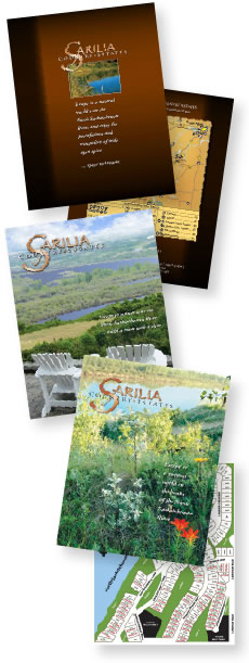 image of brochures and maps